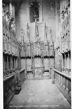 postcard   Edinburgh   St Gile's Cathedral Thistle chapel  unposted