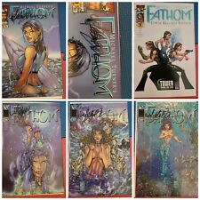 Fathom IMAGE Comics Lot - 1-14 With Variants - Signed By Michael Turner