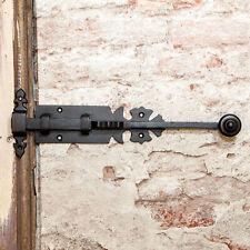 Schubriegel Antik - 30 cm Türverriegelung Eisen Schwarz, Schlossriegel