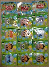 (12) Kids Bubble Packs Big A Bubbles Bubble Wand Pouch Solution Bulk Party Favor