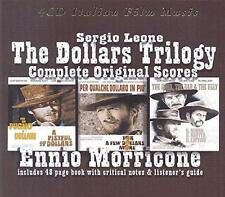 Ennio Morricone - The Dollars Trilogy - Complete Original Scores (NEW 4CD)