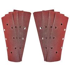 1/3 Sander fogli abrasivi 10 x P12 GRANA 93 x 230mm MURO DI LEGNO superficie del pavimento