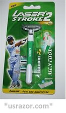 Laser Stroke Ft Gillette Atra Plus Schick Slim Twin Wilkinson Razor blade Handle