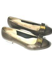 Salvatore Ferragamo Boutique Shoes Low Heels Womens Size 10B Patent
