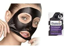 Balea Black Cloth Face Mask with Activated Carbon Fleece, Zinc & Bamboo