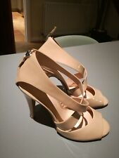 Theory Nude Patent Leather Shoes Sandals BNWB size 38.5, UK 6 (RRP £395)