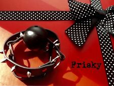 Bondage kit ball gag restraint fetish party gimp Mistress HIGH QUALITY