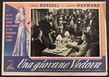 Una Giovane Vedova - Russell & Hayward - Locandina Film Poster Plakat (Y-4529+