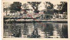 Nr.23084 Foto Frankreich Feldzug Wettolsheim LKW Behelfs Brücke    7 x 11 cm