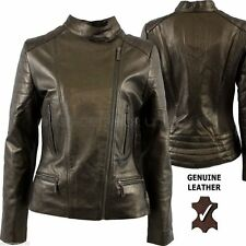 Aviatrix Leather Biker Jackets for Women