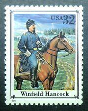 2975n MNH 1995 32c Civil War Winfield Hancock Union General Gettysburg horses