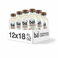 Bai Coconut Flavored Water, Cocofusions Variety Pack II, 18 Fluid of 12