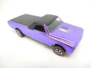 Hot Wheels Redline Custom Fleetside Purple ©1968