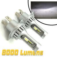 Micro H4 V12 CSP LED Headlight Bulbs Kit 8000lm! For For Mg