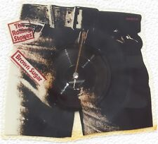 PICTURE DISC THE ROLLING STONES STICKY FINGERS VINYLE FORMAT 25cm NEUF 1984