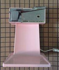 Vintage Sunbeam Electric Can Opener In Pink Color Atomic Design Model # 64-S1