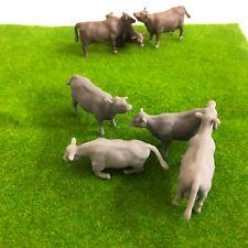 00 Scale Cows - Model Raiway Farm Animals Resin Wargame Scenery oo/ho gauge 1/76