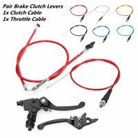 Clutch Cable Brake Lever Fits For CRF50 SSR KLX 110cc 125cc 150cc Pit Dirt Bike