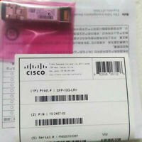 New Sealed Cisco SFP-10G-LR 10GBASE-LR SFP Plug-in GBIC Transceiver module