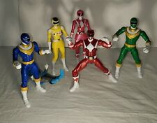 Lot of 6 Hasbro Power Rangers lightening collection Loose