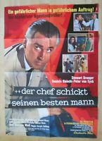 Filmplakat - Der Chef schickt seinen besten Mann ( Stewart Granger )