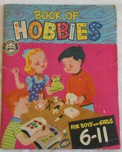 Retro 1950s Book of Hobbies for Boys & Girls 6 - 11 by Helen Jill Fletcher