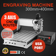 3040T USB CNC ROUTER ENGRAVER ENGRAVING CUTTING 3 AXIS MACHINE CUTTER ARTWORK