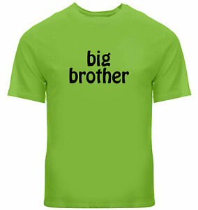 big brother Unisex Tee Crew Neck T-Shirt Gift matching brother tshirt