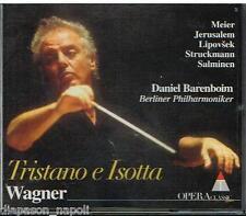 Wagner: Tristan und Isolde / Barenboim, Meier, Jerusalem, Lipovsek, Salminen CD