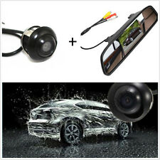"""360°CCDHDWide-angleBackupParking Camera + 4.3"""" TFT Rearview Mirror Screen"""