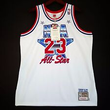 77d4aaa5e 100% Authentic Michael Jordan Mitchell   Ness 91 All Star Jersey Size 48 XL  Mens