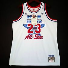 100% Authentic Michael Jordan Mitchell   Ness 91 All Star Jersey Size 48 XL  Mens 26b364893