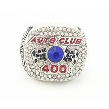 2015 NASCAR LIMITED Edition CA Speedway Auto Club 400 Ring SZ 10.5