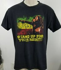 Bob Marley stand up for your rights reggae Zion rootswear size medium 1443