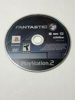 Fantastic 4 (Sony PlayStation 2, PS2, 2005) - DISC ONLY