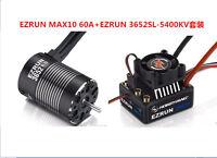 Hobbywing Combo EZRUN MAX10 60A Speed Controller Waterproof ESC+3652SL G2 5400KV