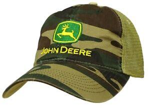 Genuine John Deere Camo Trucker Cap
