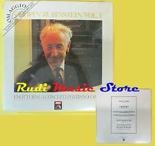 LP 12'' CHOPIN/RUBINSTEIN/VOL.1 I notturni/concerti pianoforte PROMO cd mc dvd