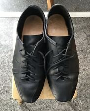 HAND MADE LEATHER CYCLING SHOES SIZE 9.5 RETRO VINTAGE RRP £79.99