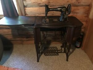 Vintage Free No 5 Peacock Treadle Sewing Machine Manufactured From 1902 To 1910