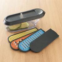 Kitchen Container Grater, Food Fruit Vegetable Slicer & Cutter, Storage & Cover