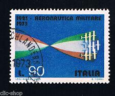 ITALIA 1 FRANCOBOLLO AERONAUTICA MILITARE 90 LIRE 1973 usato