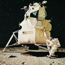 """Norman Rockwell Famous Artwork Cleaning Cloth """"Man On The Moon"""""""