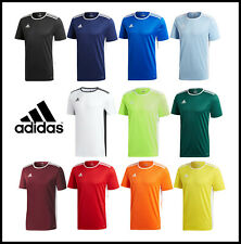 Adidas para hombre camiseta Manga Corta entrada 18 Climalite Fútbol Talla S M L XL