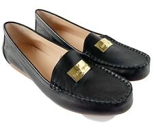 Kate Spade Corrie Black Leather Slip On Loafers Size 8.5M