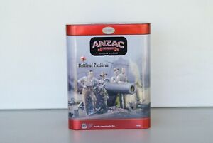 2017 UNIBIC ANZAC BATTLE OF POZIERES BISCUIT TIN  limited edition empty tin
