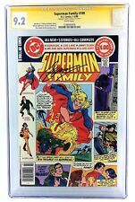 SUPERMAN FAMILY #199 CGC 9.2 NM- SS 1x SIGNED GERRY CONWAY 1980 DC SUPERGIRL
