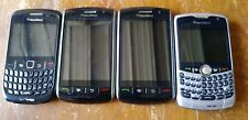 Lot of 4 BlackBerry Storm 9530, 8530, 8830 (Verizon) Smartphones