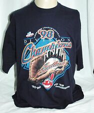 Cleveland Indians 1998 American League Central Champions T Shirt Mens XXL