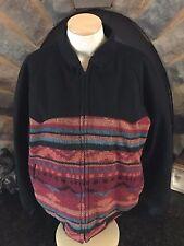 VTG Pioneer Wear USA Wool/Poly Western Native Print Jacket Sz 44